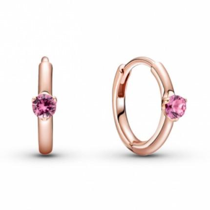 PANDORA ROSE Ohrschmuck Pink Solitaire 289304C03