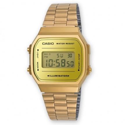 Casio Armbanduhr Vintage Iconic Collection Gold A168WEGM-9EF