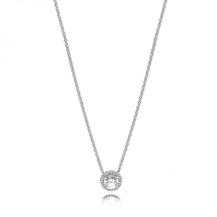 PANDORA Silberkette Klassische Eleganz 396240CZ-45